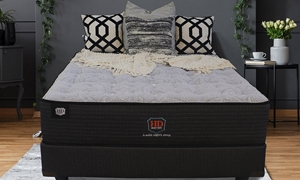 "HD Super Duty Stately Luxury Firm 13"" Queen Mattress with Gel Memory Foam in Bedroom"