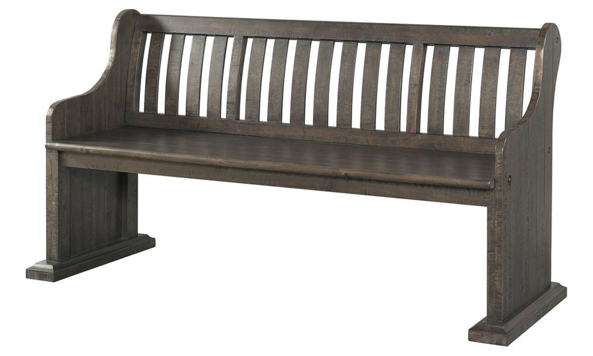Stone 68 Inch Acacia Dining Pew Bench Haynes Furniture