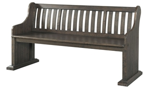 Stone 68-Inch Acacia Dining Pew Bench