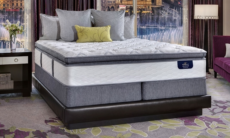 "Serta Bellagio Luxe Super Pillow Top 14"" Hybrid Queen Mattress"
