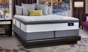 "Serta Bellagio Luxe Super Pillow Top 14"" Hybrid King Mattress"