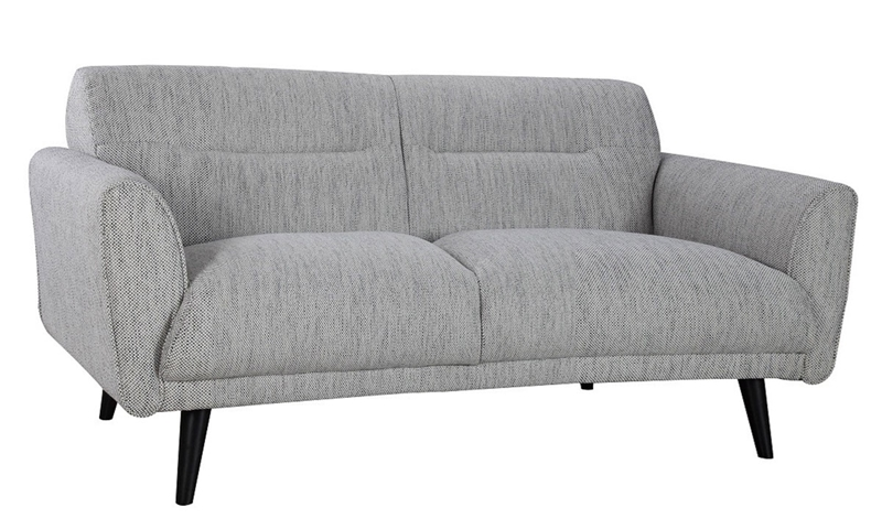 Locke Contemporary Flare Arm Apartment Sofa | Haynes Furniture