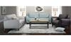 Violino Tufted Flare Arm Sofa, Loveseat and Chair Group