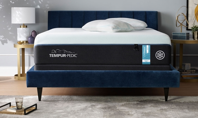 "Tempur-Pedic LUXEbreeze Soft Memory Foam 13"" King Mattress"