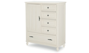 Legacy Classic Lakehouse 1-Door Storage Chest Pebble White