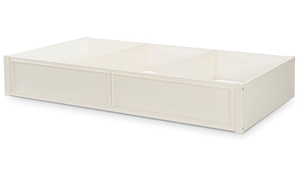 Legacy Classic Lakehouse Trundle and Storage Drawer Pebble White
