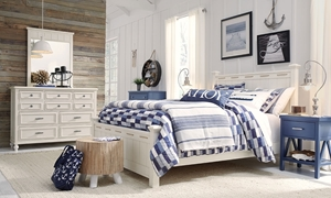 Legacy Classic Lakehouse 3-Piece Twin Bedroom Set Pebble White