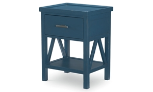 Legacy Classic Lakehouse Open Nightstand Denim Blue