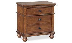 Aspenhome Oxford Whiskey 2-Drawer Nightstand