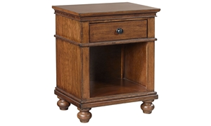 Aspenhome Oxford Whiskey 1-Drawer Nightstand