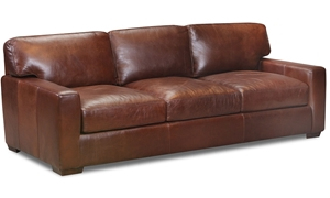 Rocky Mountain Leather Primo Native Top Grain Leather Sofa