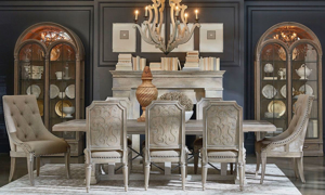 Picture of A.R.T. Architectural Salvage 5-Piece Dining Set