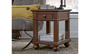 Oxford Whiskey Storage Chairside Table