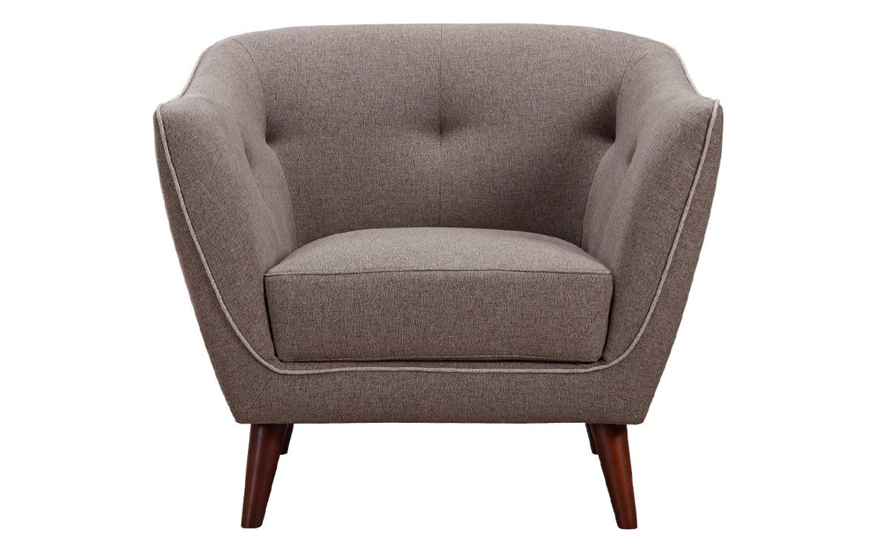 Picture of Hume Mid-Century Modern Tufted Accent Chair