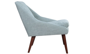 Picture of Beauvoir Eggshell Blue Accent Chair