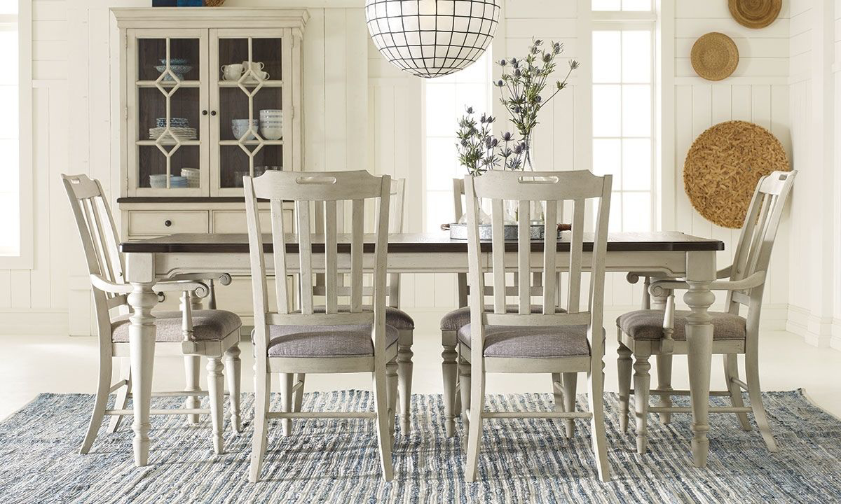 Picture of Brookhaven 5-Piece Farmhouse Dining Set