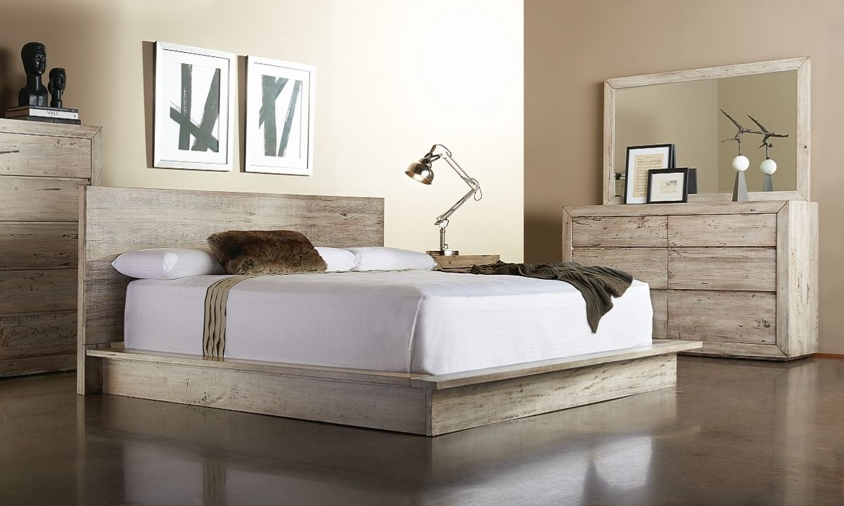 Picture of Cambria Contemporary Queen Platform Bedroom