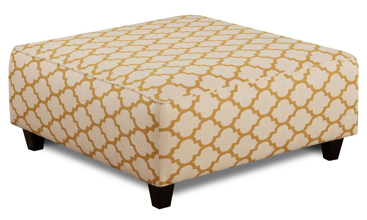 Picture of Cash Citrine Cocktail Ottoman