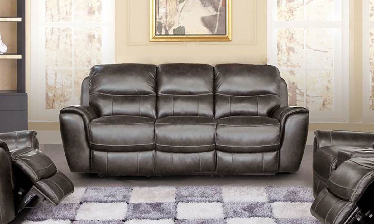 Sterling Leather Reclining Sofa