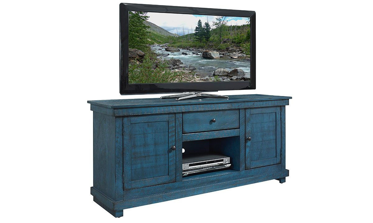 Picture of Hillsdale Villa Teal 60-inch Entertainment Console