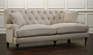 Jessica Jacobs Classics Oxford English Arm Sofa