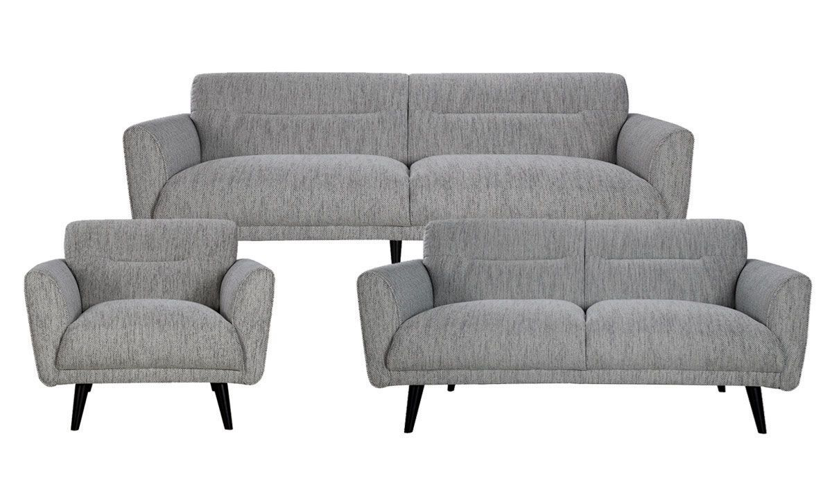 Picture of Locke 3-Piece Contemporary Flare Arm Living Room Set