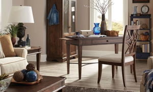 Elegant home office from the Trisha Yearwood collection.
