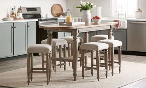 Picture of Trisha Yearwood Nashville 5-Piece Counter Height Dining Set