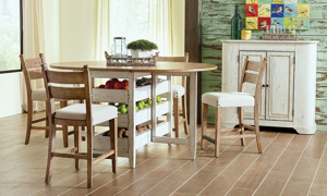 Trisha Yearwood Neighbors Counter Height Dinette