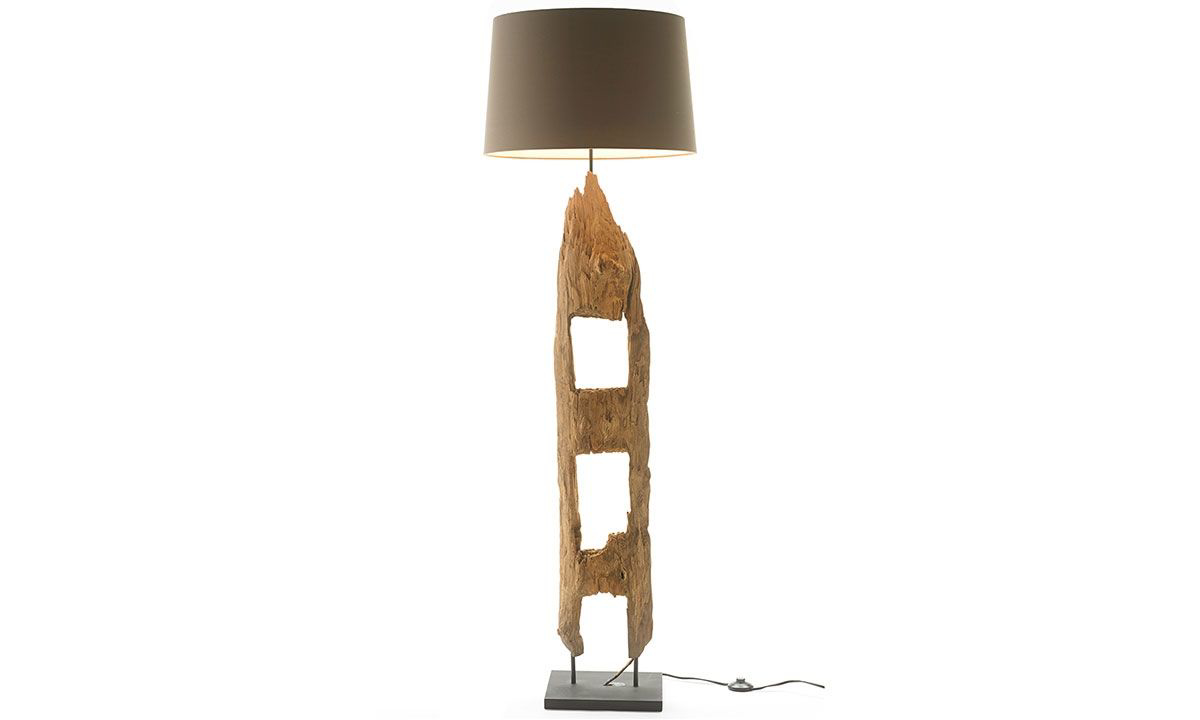 Picture of Valor Wood Sculpture Floor Lamp