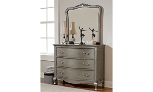 Picture of Viviana Antique Silver Twin Upholstered Bedroom