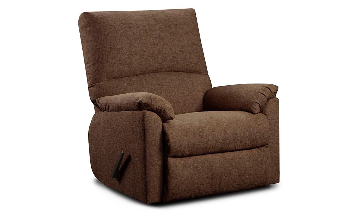 Picture of Washington Furniture Mitchell Chocolate High Back Recliner