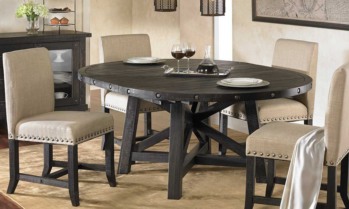 Picture of Yosemite Round Upholstered Dining Set