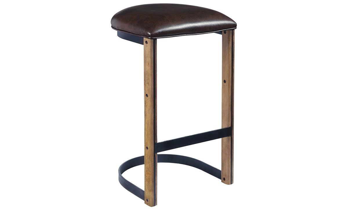Picture of Oozlefinch Fenwick Blonde Minimalist Bar Stool