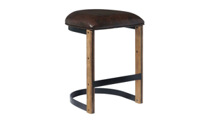 Picture of Oozlefinch Fenwick Blonde Minimalist Counter Height Stool