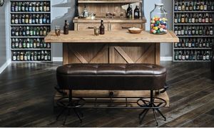 Picture of Oozlefinch Old Comfort Bar Height Bench