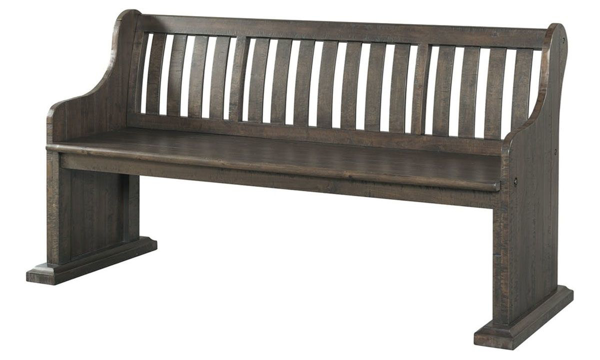 Picture of Stone 68-Inch Acacia Dining Pew Bench