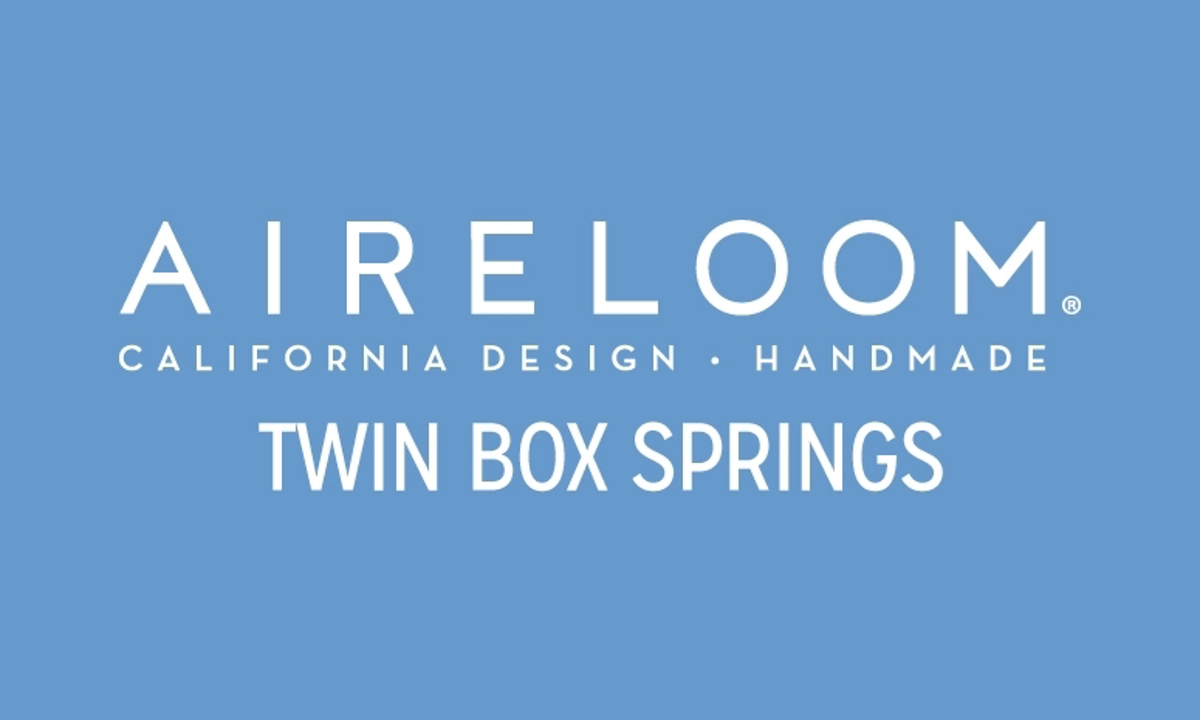 Aireloom Tweed Low-Profile 5-inch Twin Box Spring