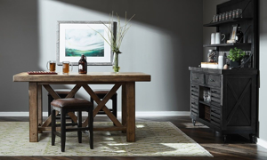 Picture of Oozlefinch Annabel Blonde Counter Height Table