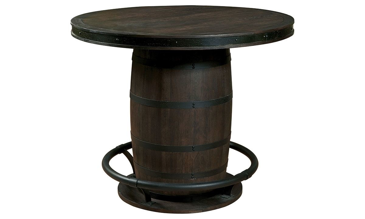 Picture of Oozlefinch Sgt. Patches Stout Barrel Counter Height Table