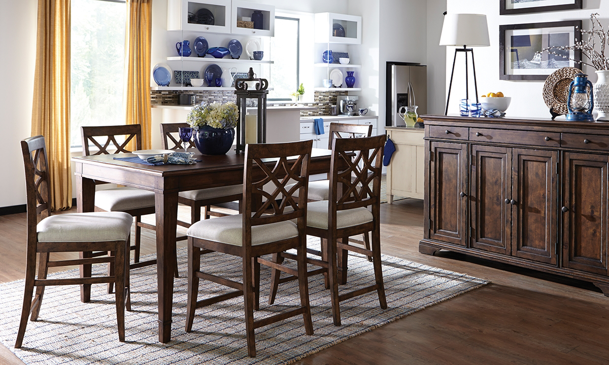 Trisha Yearwood Southern Counter Height Dinette Set