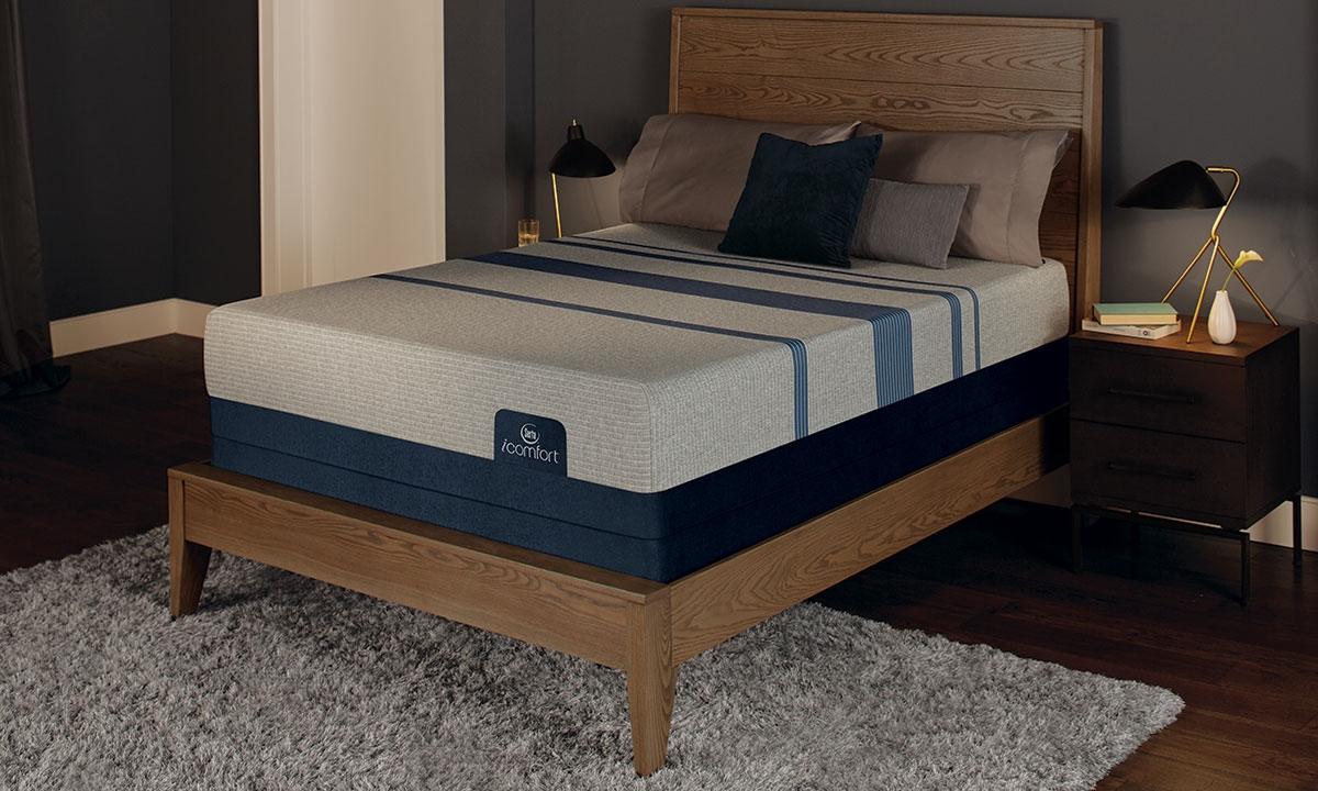 "Serta iComfort® Blue Max 3000 Memory Foam 14"" Queen Mattress"