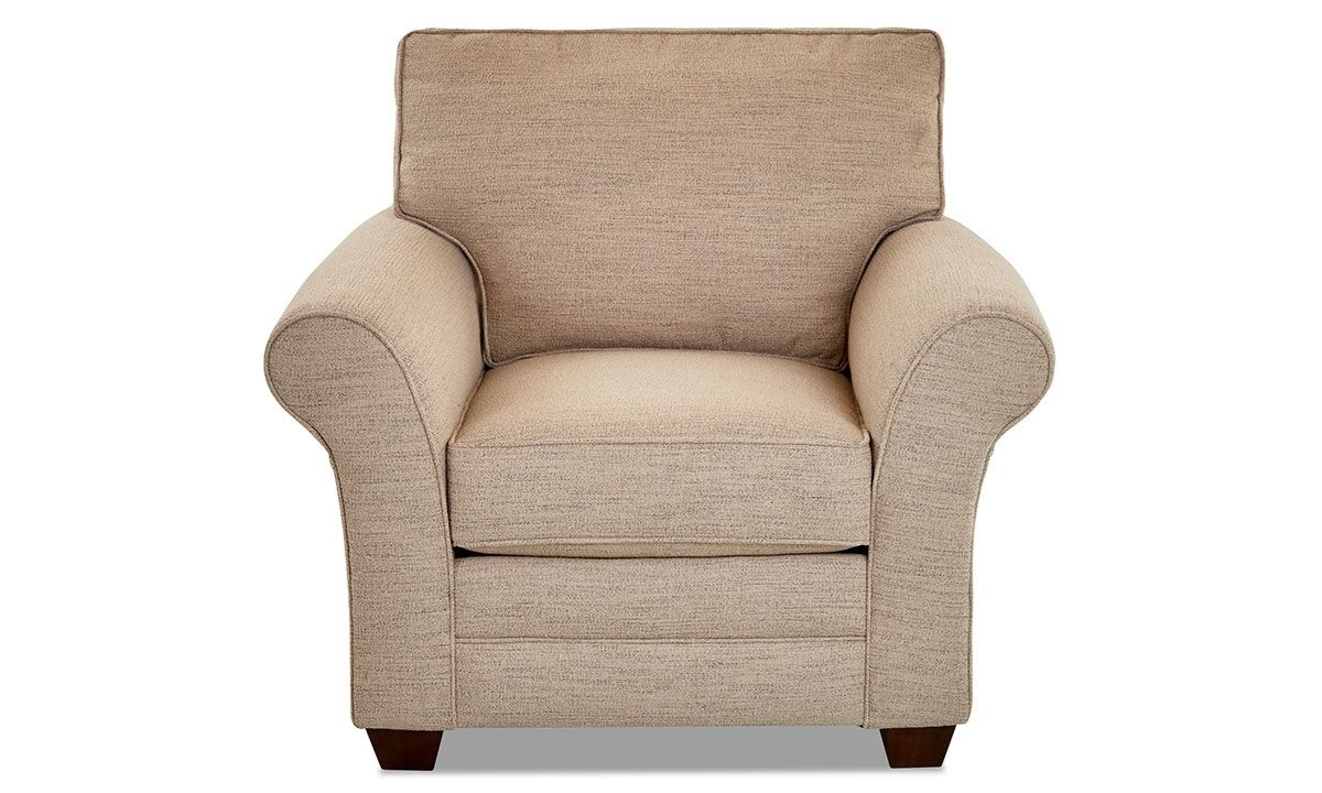 Picture of Klaussner Zack Arm Chair Isaac Sand