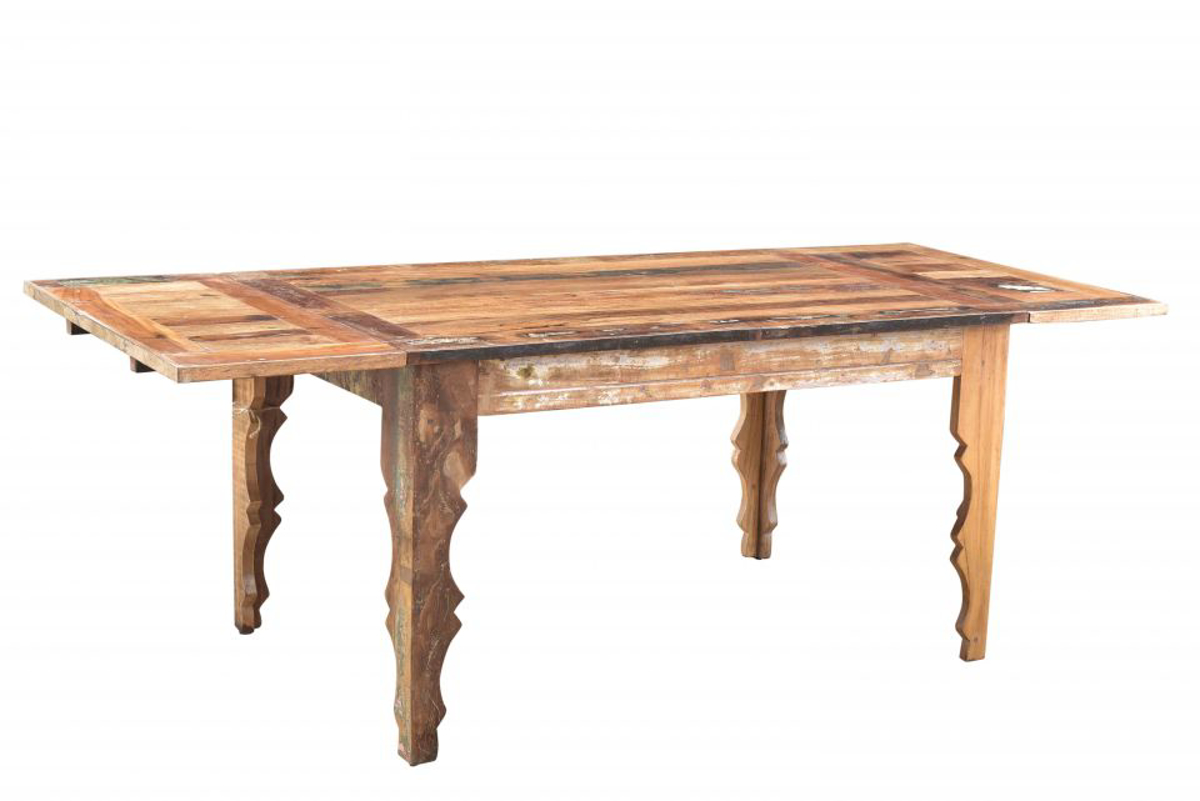 Picture of Bali Handmade Solid Wood Extension Dining Table
