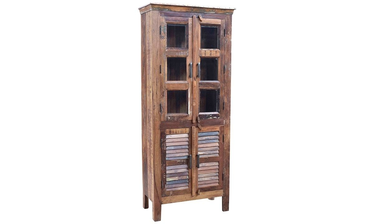 Picture of Bangel Handmade Solid Wood Curio Cabinet