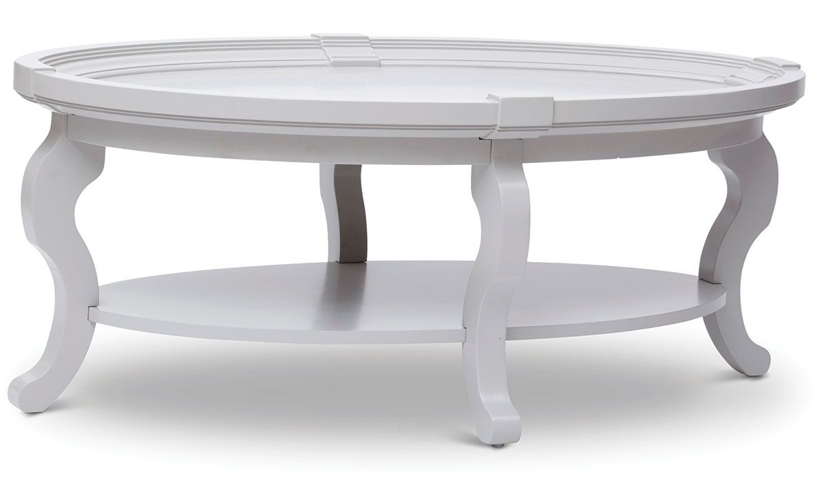 Picture of Chateau Vintage Oval Cocktail Table