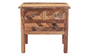 Picture of Henna Handmade Solid Wood Nightstand