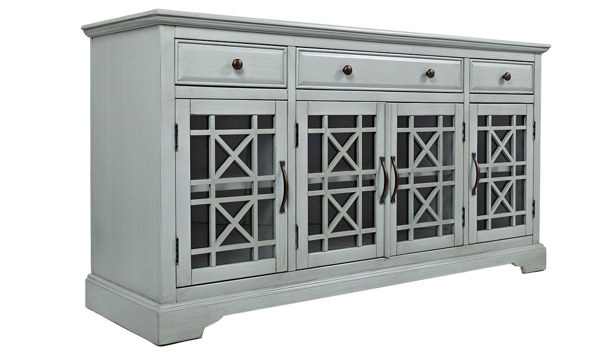 Picture of Jofran Craftsman 60-Inch Earl Grey Media Console