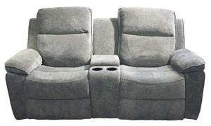 Picture of Klaussner Castaway Reclining Console Loveseat