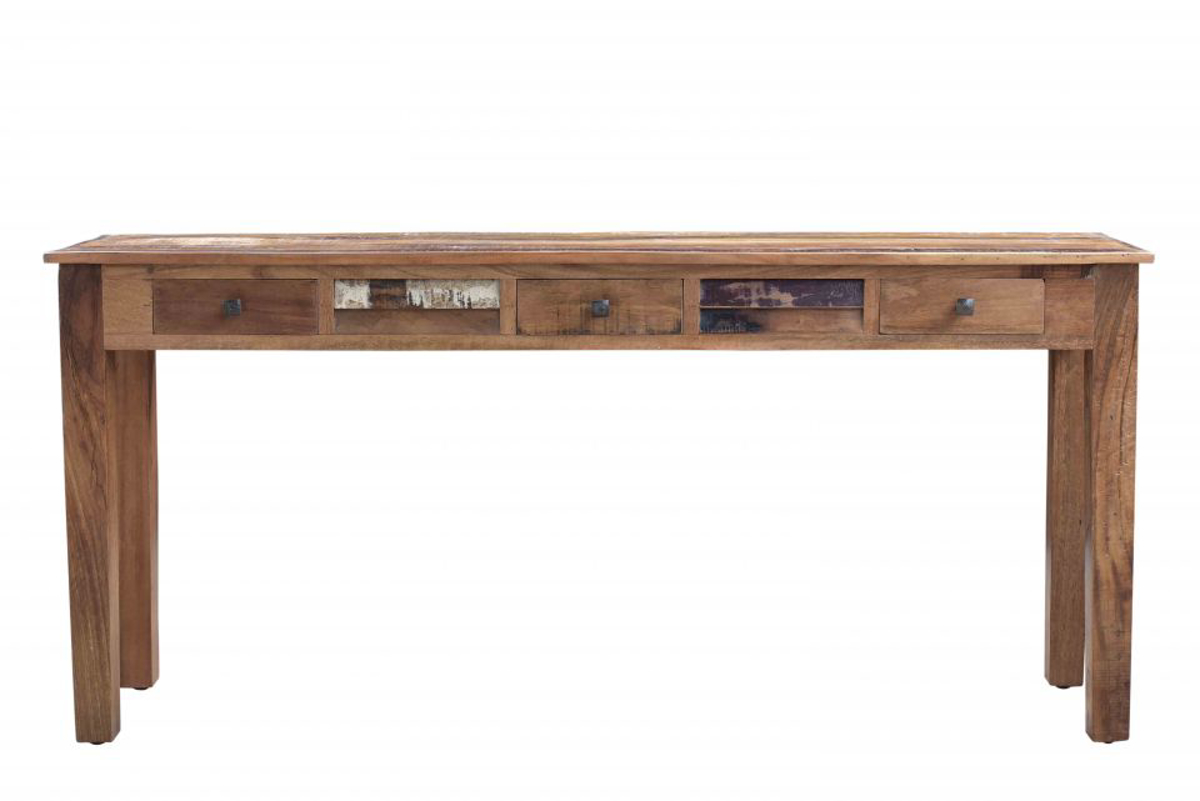 Picture of Nepal 70-Inch Handcrafted Solid Wood Console Table